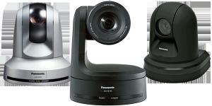 Panasonic 3x PTZ camera